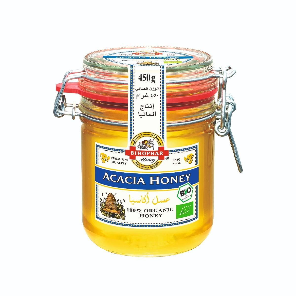 Bihophar Organic Acacia Honey