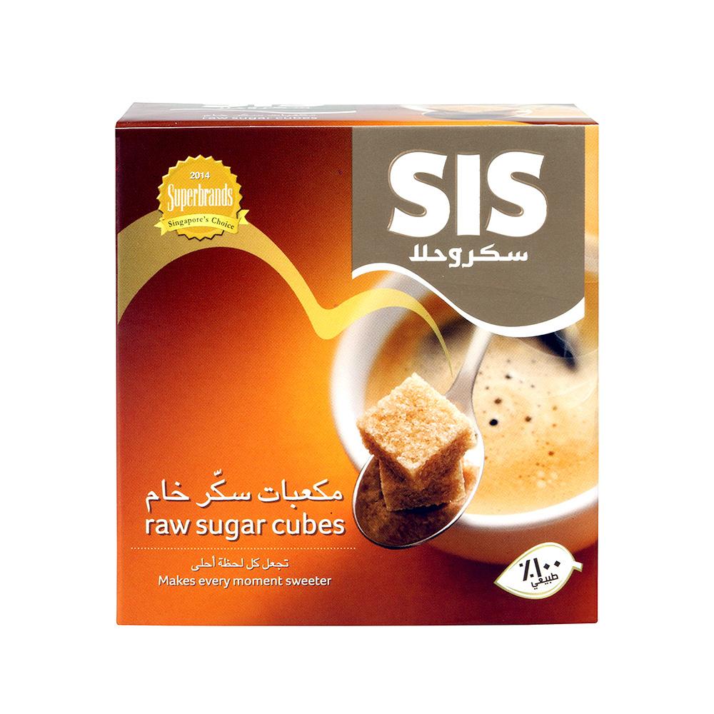 Sis Raw Cube Sugar