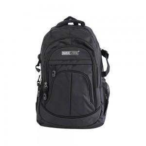 PARA JOHN Backpack for School, Travel & Work, 16'- PJSB6001A16, Black