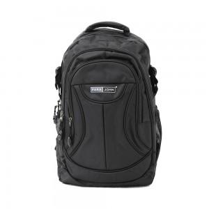 PARA JOHN Backpack for School, Travel & Work, 16'- PJSB6002A16-Black