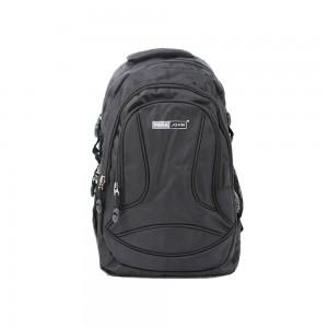 PARA JOHN Backpack for School, Travel & Work, 16''- PJSB6003A16-Black