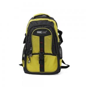 PARA JOHN Backpack for School, Travel & Work, 16''- PJSB6007A16-Yellow