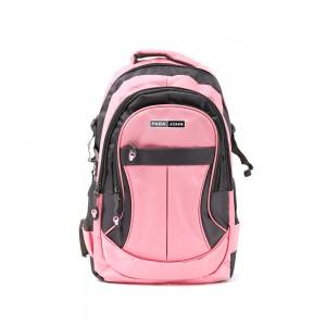 PARA JOHN Backpack for School, Travel & Work, 16''- PJSB6010A16-Pink