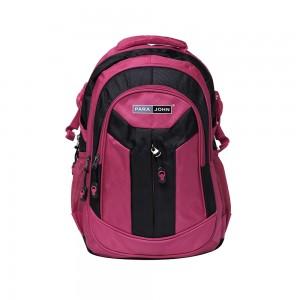 PARA JOHN Backpack for School, Travel & Work, 16''- PJSB6011A16-Pink