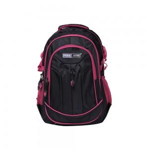 PARA JOHN Backpack for School, Travel & Work, 16''- PJSB6011A16-Black