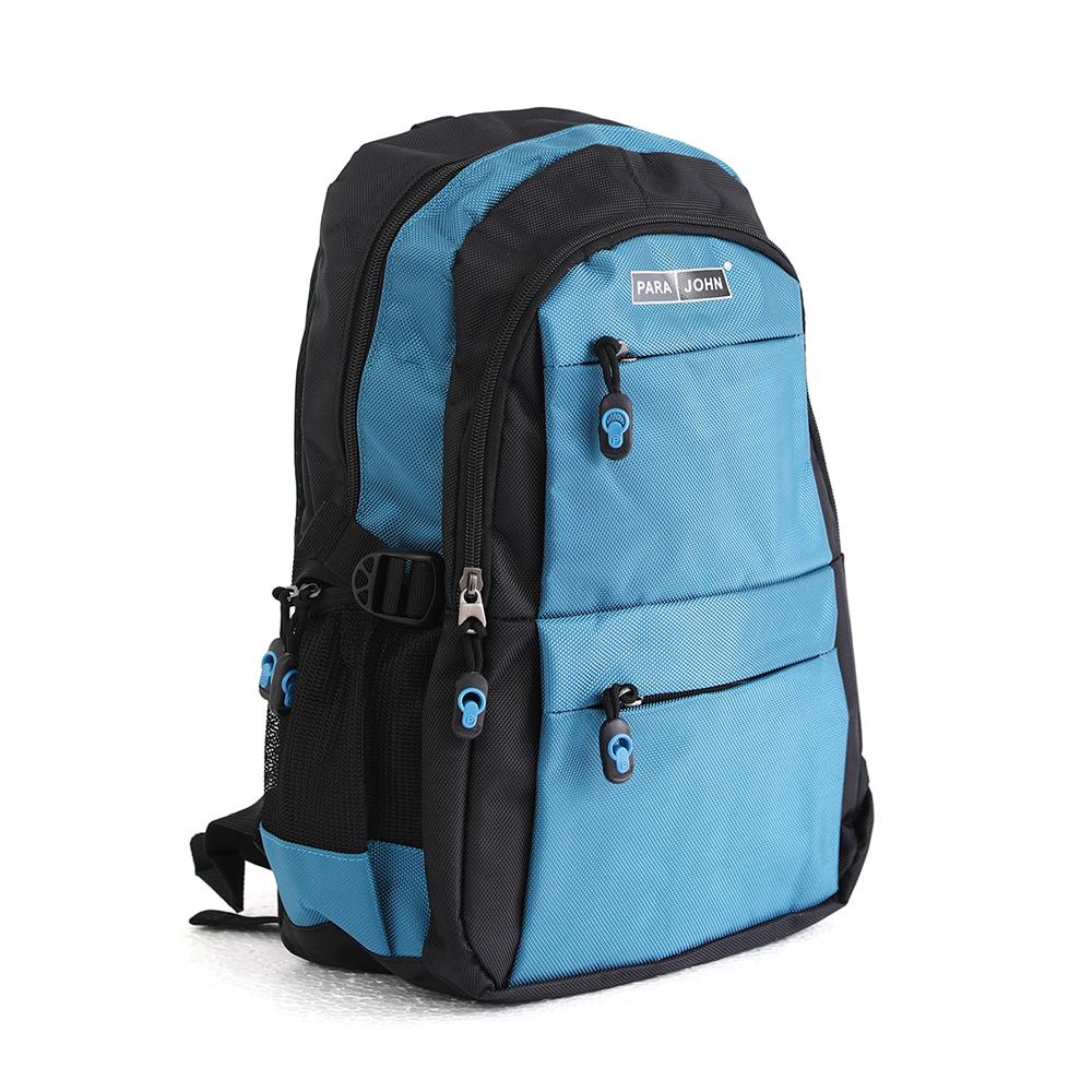 PARA JOHN Backpack for School, Travel & Work, 16''- PJSB6014A16-Blue
