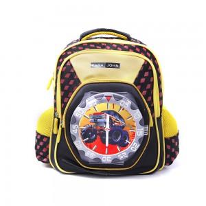 PARA JOHN Backpack for School, Travel & Work, 14''- PJSB6024A14-Yellow