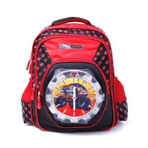 PARA JOHN Backpack for School, Travel & Work, 14''- PJSB6024A14-Red