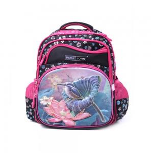 PARA JOHN Backpack for School, Travel & Work, 14''- PJSB6025A14-Pink