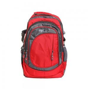 PARA JOHN Backpack for School, Travel & Work, 18''- PJSB6000A18-Red