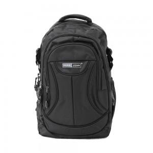 PARA JOHN Backpack for School, Travel & Work, 18''- PJSB6002A18-Black