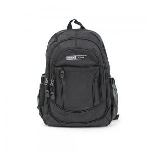 PARA JOHN Backpack for School, Travel & Work, 18''- PJSB6004A18-Black