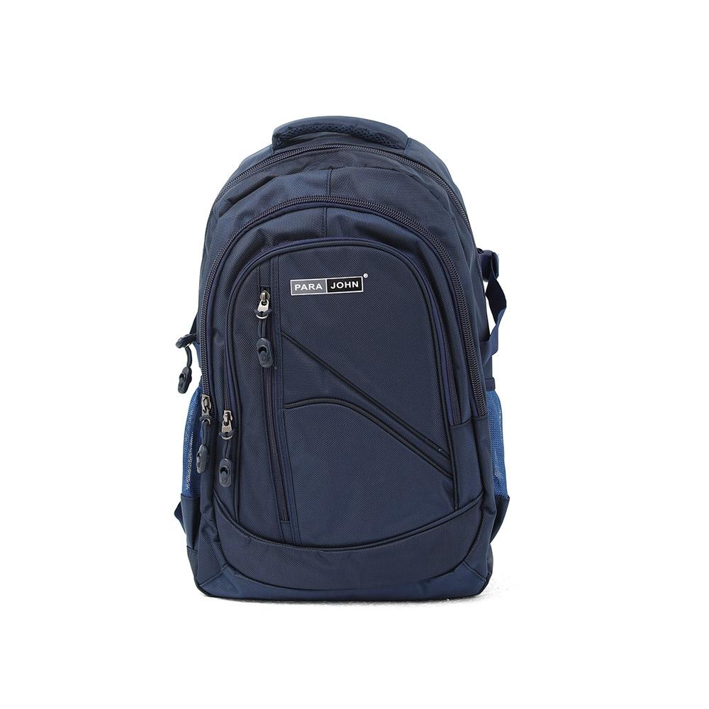 PARA JOHN Backpack for School, Travel & Work, 18''- PJSB6005A18-Blue