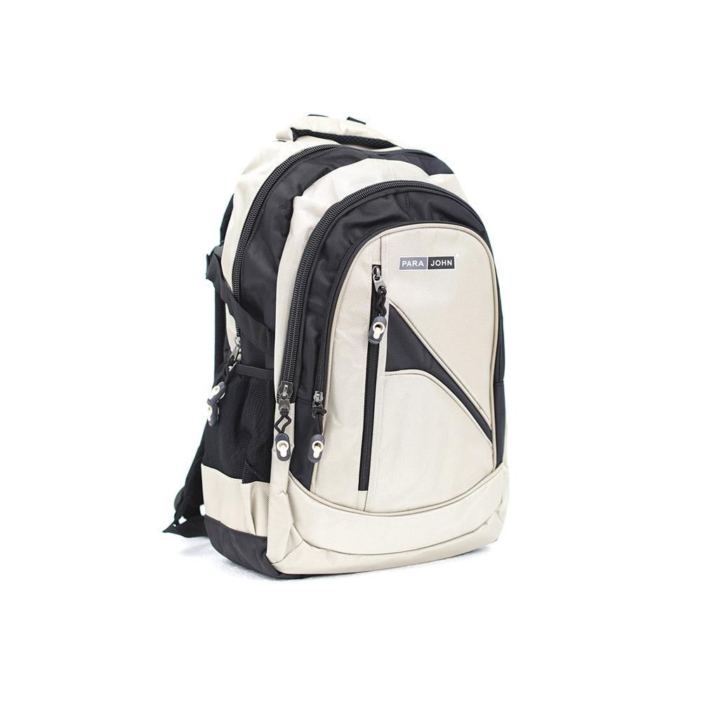 PARA JOHN Backpack for School, Travel & Work, 18''- PJSB6005A18-Grey