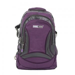 PARA JOHN Backpack for School, Travel & Work, 18''- PJSB6009A18-Violet