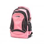 PARA JOHN Backpack for School, Travel & Work, 18''- PJSB6009A18-Pink