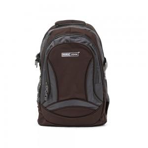 PARA JOHN Backpack for School, Travel & Work, 18''- PJSB6009A18-Brown
