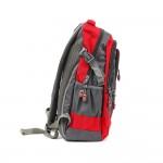 PARA JOHN Backpack for School, Travel & Work, 18''- PJSB6010A18-Red