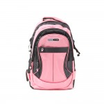PARA JOHN Backpack for School, Travel & Work, 18''- PJSB6010A18-Pink