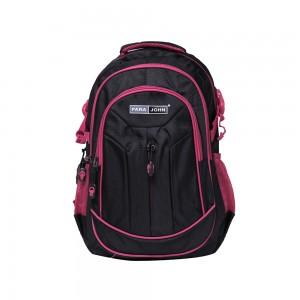 PARA JOHN Backpack for School, Travel & Work, 18''- PJSB6011A18-Black