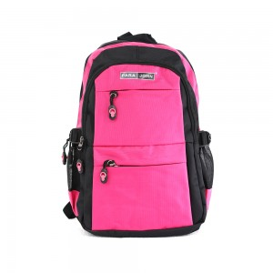 PARA JOHN Backpack for School, Travel & Work, 18''- PJSB6014A18-Pink