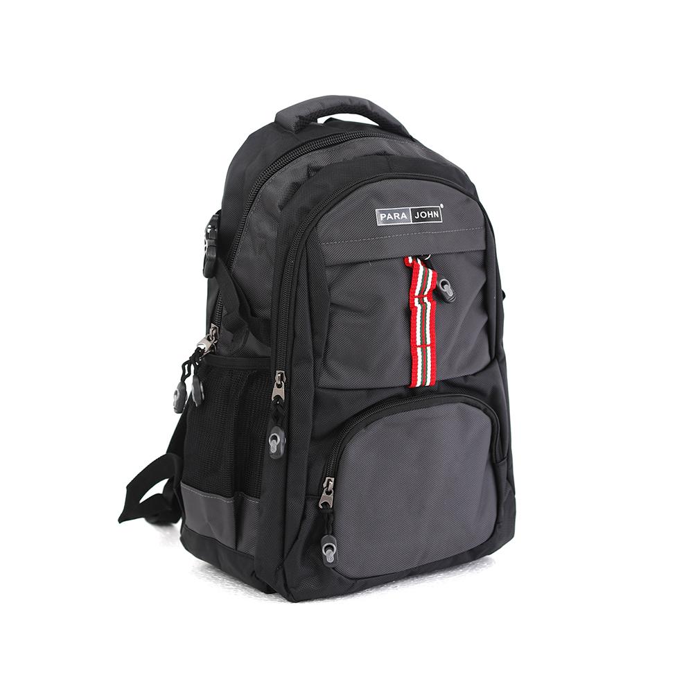 PARA JOHN Backpack for School, Travel & Work, 18''- PJSB6015A18-Grey