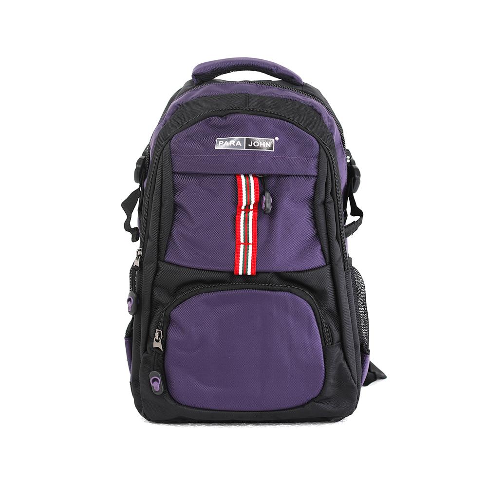 PARA JOHN Backpack for School, Travel & Work, 18''- PJSB6015A18-Violet