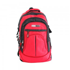 PARA JOHN Backpack for School, Travel & Work, 20''- PJSB6001A20-Red