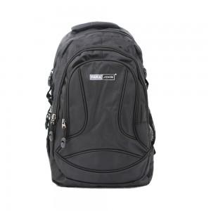PARA JOHN Backpack for School, Travel & Work, 20''- PJSB6003A20-Black