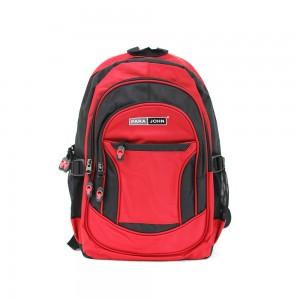 PARA JOHN Backpack for School, Travel & Work, 20''- PJSB6004A20-Red