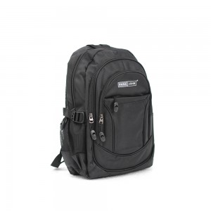 PARA JOHN Backpack for School, Travel & Work, 20''- PJSB6004A20-Black