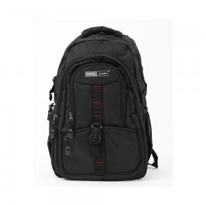 PARA JOHN Backpack for School, Travel & Work, 20''- PJSB6007A20-Black