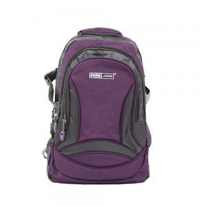 PARA JOHN Backpack for School, Travel & Work, 20''- PJSB6009A20-Violet