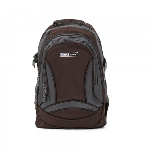 PARA JOHN Backpack for School, Travel & Work, 20''- PJSB6009A20-Brown