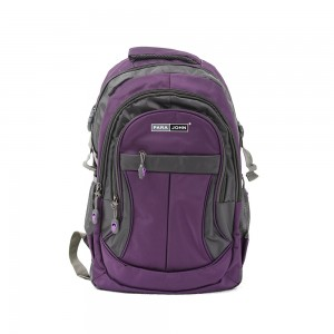 PARA JOHN Backpack for School, Travel & Work, 20''- PJSB6010A20-Violet