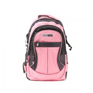 PARA JOHN Backpack for School, Travel & Work, 20''- PJSB6010A20-Pink