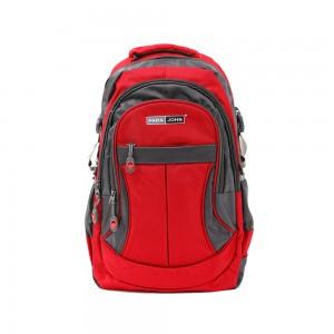 PARA JOHN Backpack for School, Travel & Work, 22''- PJSB6010A22-Red