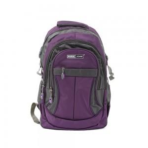 PARA JOHN Backpack for School, Travel & Work, 22''- PJSB6010A22-Violet