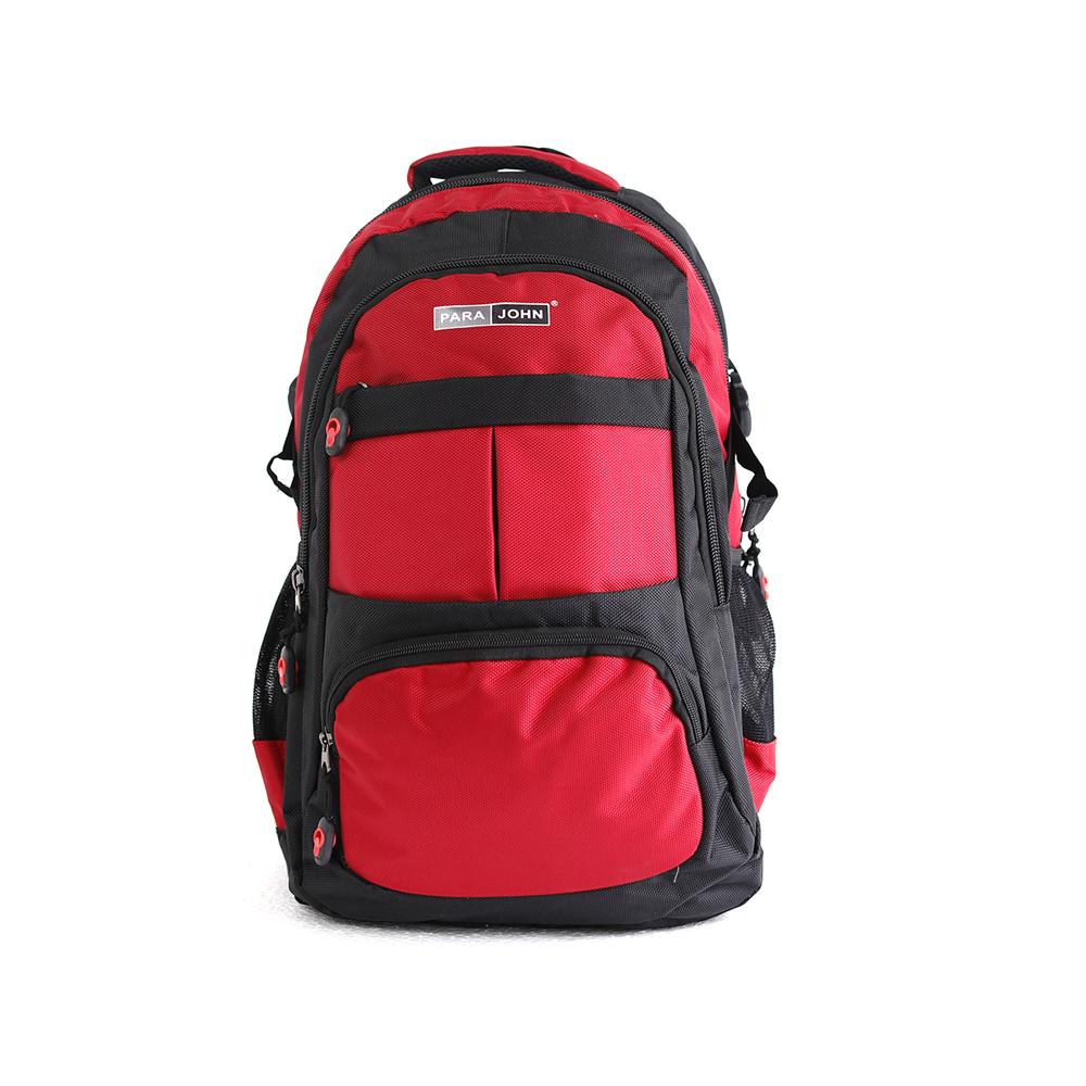 PARA JOHN Backpack for School, Travel & Work, 22''- PJSB6016A22-Red
