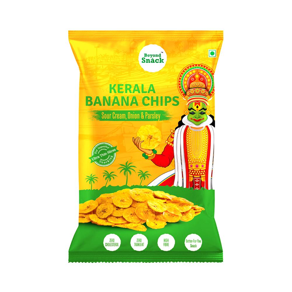 Beyond Snack Kerala Banana Chips- Sour Cream, Onion & Parsley