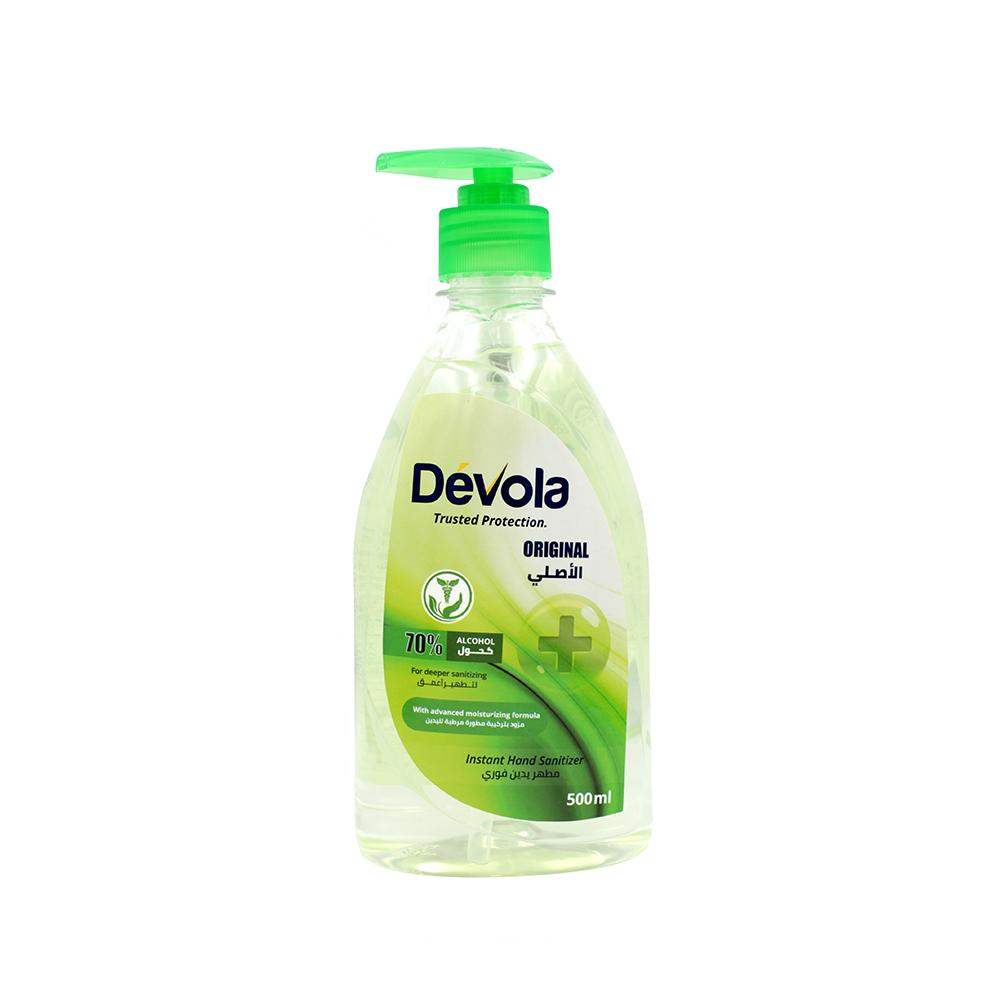Devola Gel Hand Sanitizer
