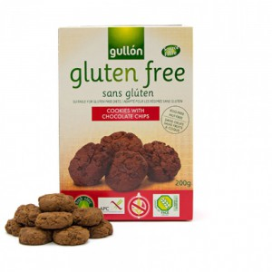 Gullon Gluten Free Cookies With Chocolate Chips