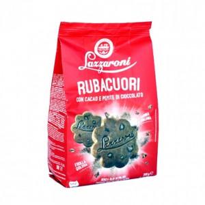 Lazzaroni Rubacuori Cocoa With Chocolate Chip Biscuits