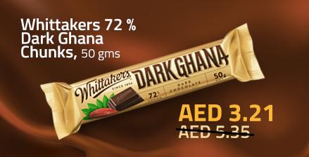 Special offer whittakers dark ghana