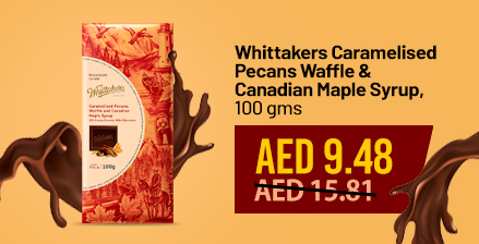 Super Sale whittakers caramelized pecans