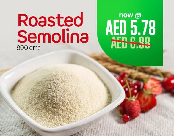 Big offer roasted semolina 800gms